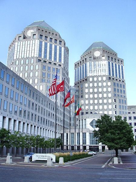 Der Hauptsitz von Procter & Gamble in Cincinnati, wo Strategien und Visionen entstehen (c) by Tysto